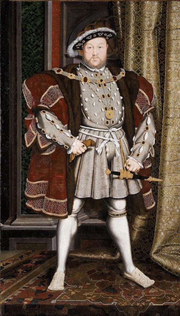 Alkuperäinen Holbeinin maalaama Henrik VIII:n muotokuva on tuhoutunut, mutta kopioita on säilynyt monissa kokoelmissa.