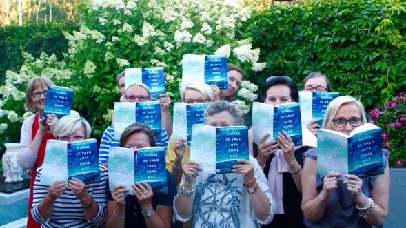 Kirsin Book Club kokoontui elokuussa Kirsin kotona Espoossa.