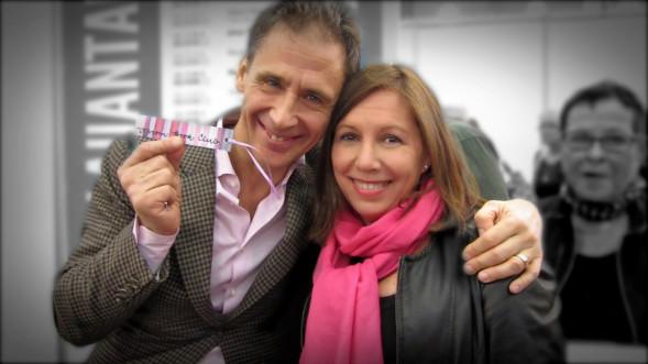 David Lagercranzt ja Kirsi Trun Kirjamessuilla 2015