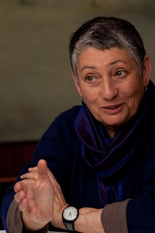 Ljudmila Ulitskaja (kuva Andras Kovacs)
