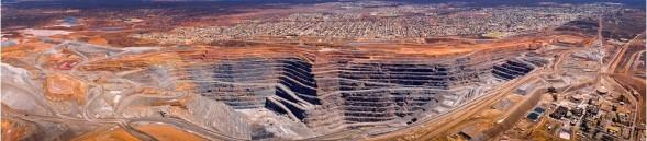 Näkymä yhdelle Oranssin maan tapahtumapaikalle, kaivoskaupunki Kalgoorlieen. (Kuva Ron Hunter Properties)