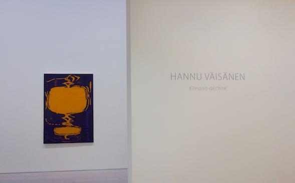 Hannu Väisäsen näyttely Kimono déchiré -Revitty kimono Gallerie Forsblomilla 10.3. - 3.4.2016
