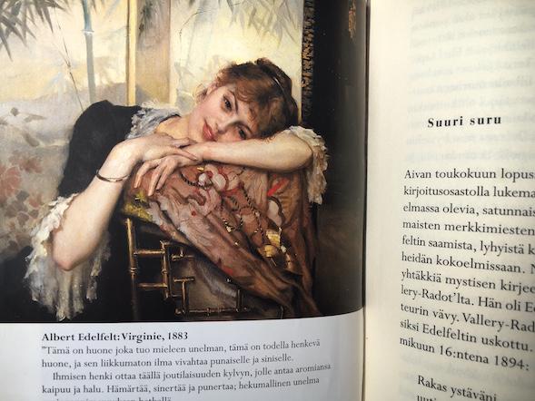 Virginie Anna Kortelaisen kirjan kuvituksesta.