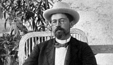 Kirjailija Anton Tšehov