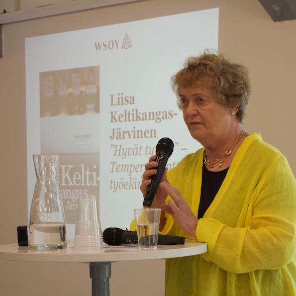 Liisa Keltikangas-Järvinen ottaa kantaa persoonan merkitykseseen työelämässä.