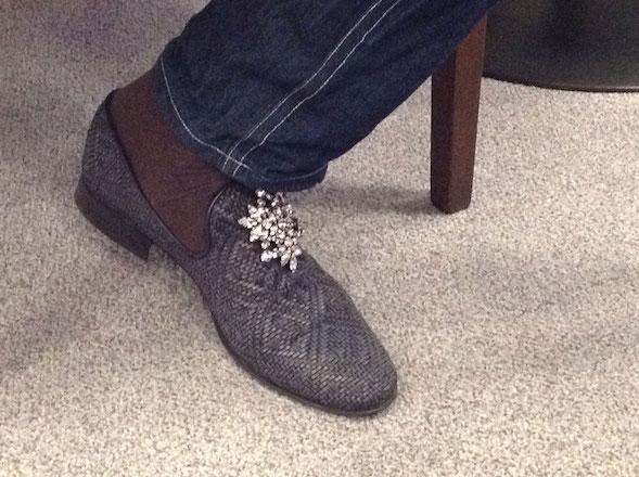 Markin kengissä oli ihanat kristallit.