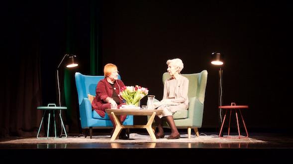 Tarja Halonen ja Tellervo Koivisto olivat huikea pari.
